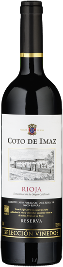 "Rioja DO Tinto ""Reserva Seleccion Vinedos"" Coto de Imaz - 2013"