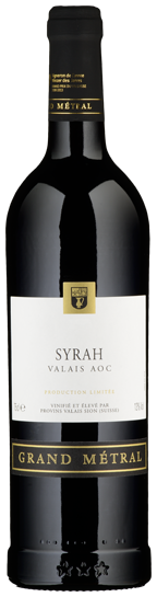 "Syrah du Valais ""Grand Métral"" - 2014"