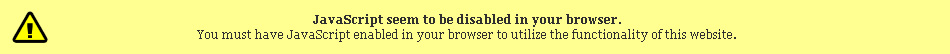 JavaScript seem to be disabled in your browser.
